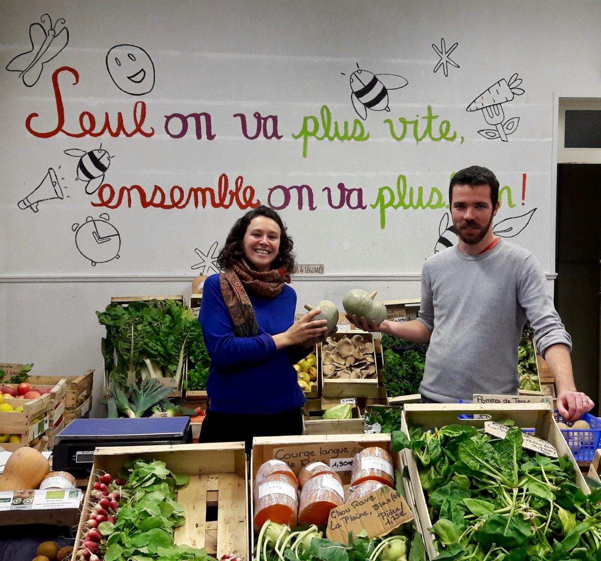 Supercoop, le supermarché collaboratif de Bordeaux
