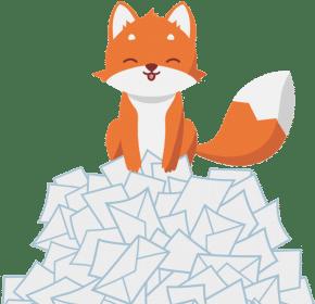 boîte mail minimaliste